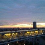 <b>Couché de soleil sur Bruxelles</b> <br />