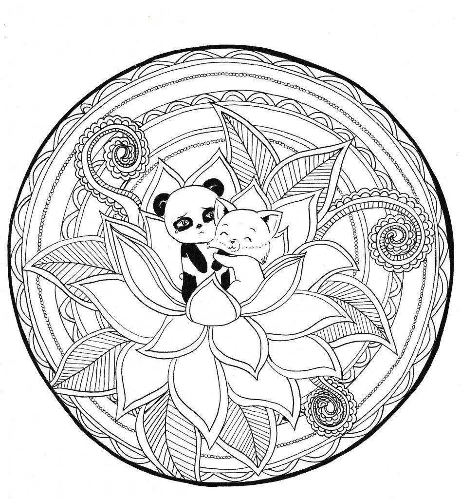 Hug renard panda